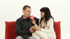 Sweet Valentines - stock footage