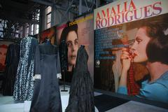 Amalia rodrigues exhibition Stock Photos