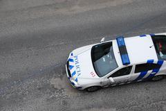 Poliisiauto Kuvituskuvat