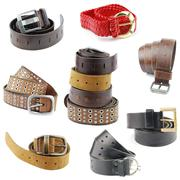 belts - stock photo