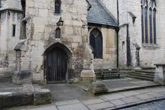 St mary de lode church  Stock Photos