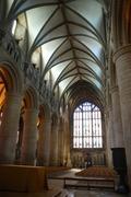 Gloucester cathedral interior Stock Photos