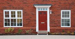 british residential house Stock Photos