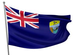 Stock Illustration of saint helena national flag