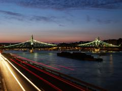 Stock Photo of liberty bridge of budapest