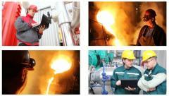 People at work, split screen - stock footage