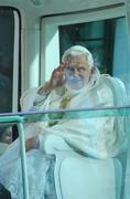 pope benedict xvi - stock photo