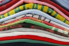 t-shirts  - stock photo
