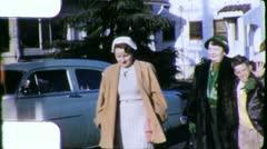 People Walking Suburbs Los Angeles California 1940s Vintage Film Home Movie 5641 Arkistovideo
