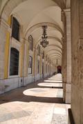 Stock Photo of commerce square arcades