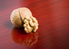 tasty walnut. - stock photo