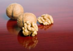 tasty walnut. - stock photo