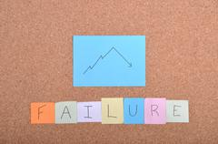 Stock Photo of failure