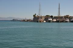 Kos harbour, Stock Photos