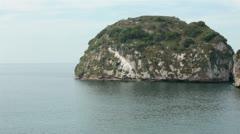 Los Arcos National Marine Park Puerto Vallarta Mexico pan HD 4025 Stock Footage
