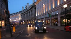 Regent St Stock Footage