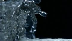 Water splash, Slow Motion Stock Footage