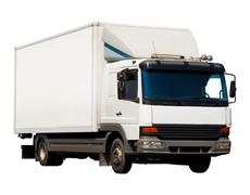 Small truck - stock photo