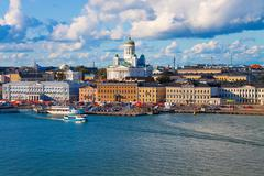 Stock Photo of Summer panorama of Helsinki, Finland