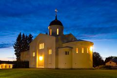 New Valaam monastery - stock photo