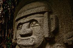 Pre-Columbian Statue Stock Photos