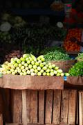 Fruit market  in india Stock Photos