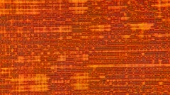 Electronic Tapestry Motion Background: Amber and Red Stock Footage