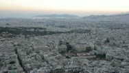 Stock Video Footage of Athens panorama 360 degrees