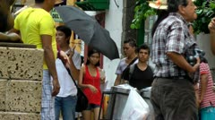 Tourists, Travelers, Groups of People Stock Footage