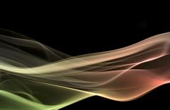 multicolored smoke - stock photo