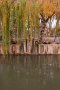 watermill - stock photo