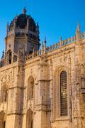 Hieronymites monastery in lisbon Stock Photos