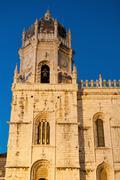 hieronymites monastery in lisbon - stock photo