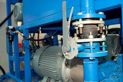 electrical, mechanical equipment - stock photo