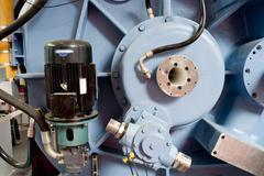 electrical engineering equipment - stock photo
