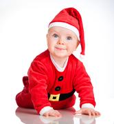 Stock Photo of little santa