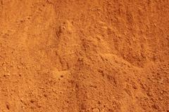 texture red earth - stock photo