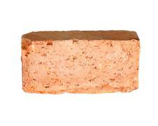 one brick - stock photo