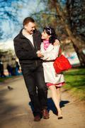 Stock Photo of loving couple