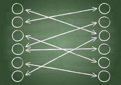 connection - stock illustration