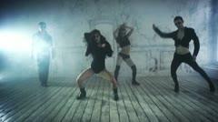 Dance team Stock Footage