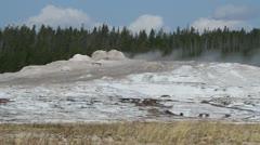 Geysers in yellowstone Stock Footage