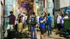 Singapore - Diwali temple festival Stock Footage