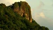 Sokeh's Rock on Pohnpei Stock Footage