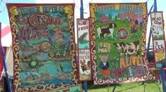 County Fair Freak Show 1.mp4 - stock footage