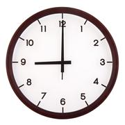 analog clock - stock photo