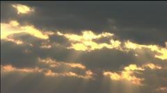 Sun rays pt. 1 - stock footage