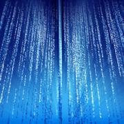 Digital Computer Data Streams - stock illustration