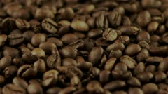 coffee beans - stock footage
