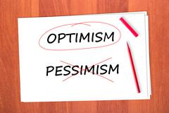 optimism - stock photo